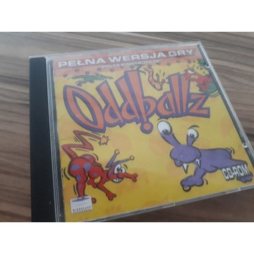 Oddballz kultowa gra PC UNIKAT CD Rom