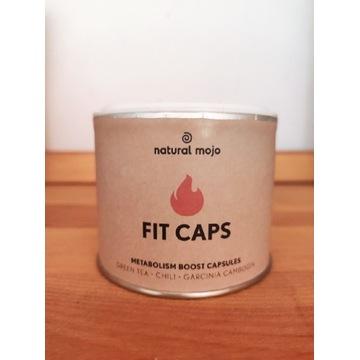 Natural Mojo fit Caps kapsułki na spalanie odchudz