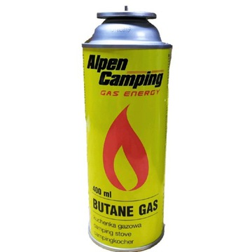 Kartusz gazowy Alpen Camping 400ml