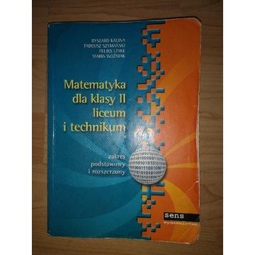 MATEMATYKA dla klasy 2 liceum - Kalina_SENS