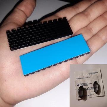 Radiator 6mm NVME M2 M.2 SSD 2280 TERMOPAD 0,2mm
