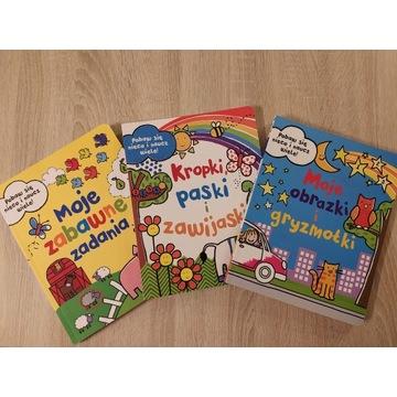 Książeczki z zadaniami dla dzieci
