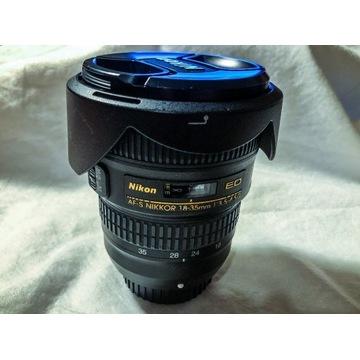 Szerokokątny Nikkor AF 18-35mm f/3.5-4.5 D ED-IF
