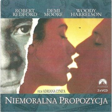 """""""Niemoralna propozycja""""-film na VCD-Demi Moore,"""