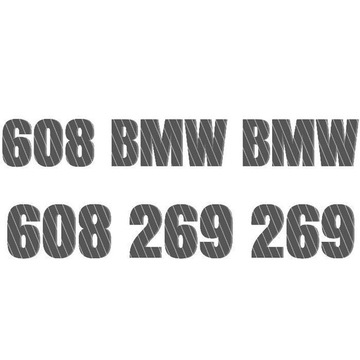Dealer BMW - 608 BMW BMW reklama czesci infolinia