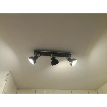 Zestaw łazienka: oświetlenie nad lustro i na sufit