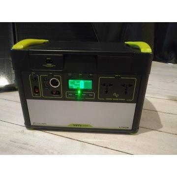 GOAL ZERO YETI 1400 -solarny powerbank -zestaw