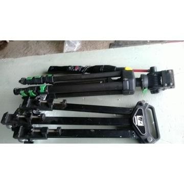 statyw kamerowy z wózkiem / CULLMANN /