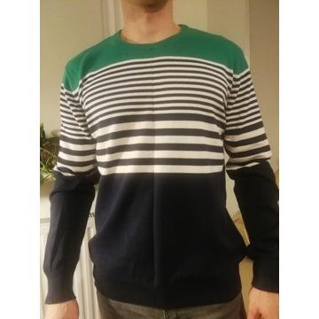 Męski sweter rozmiar L bawełna Reseved