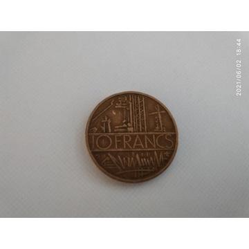 FRANCJA - 10 franków - 1976 r.