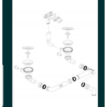 Syfon Blanco 234488 Praktycznie nowy Wysyłk gratis