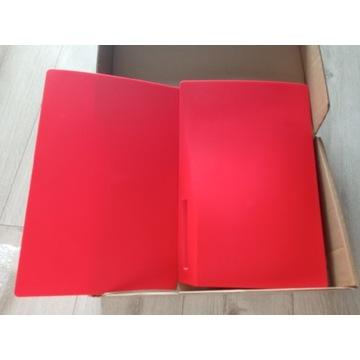 Panel obudowa konsola PlayStation 5 Red, czerwona