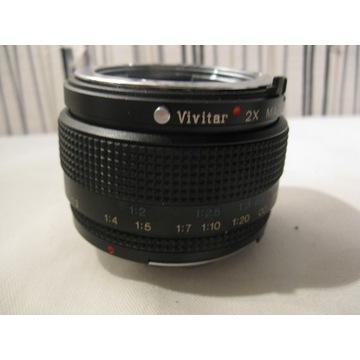 Telekonwerter VIVITAR 2x z Macro Focusing M/MD