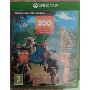 Zoo Tycoon Ultimate Animal Colection XBOX ONE