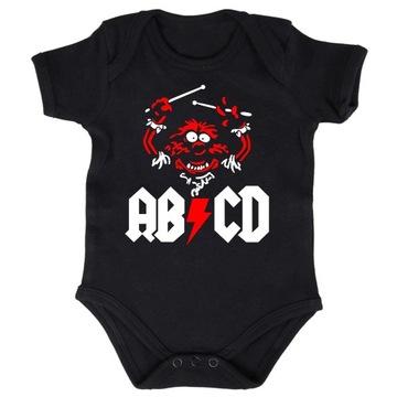 Body Dziecięce Metal AC DC Zwierzak - 9m