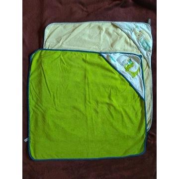 Ręcznik okrycie kąpielowe Babyono 76 x 76 cm 2-pak