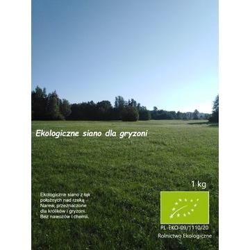 Ekologiczne siano dla gryzoni