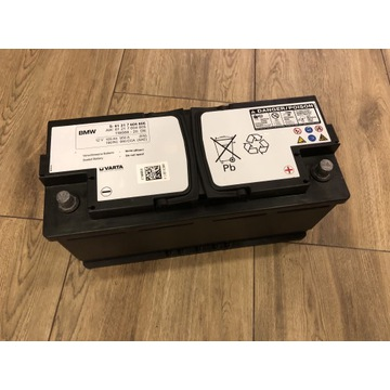 # Akumulator AGM BMW 105Ah Varta Oryginalny wysylk