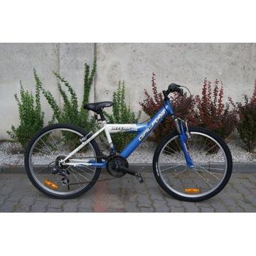 Dziecięcy/juniorski rower górski Galaxy 24'' koła
