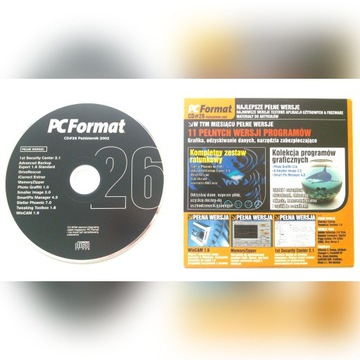 PC Format CD nr 26/2002 36 programów Adobe UNIKAT