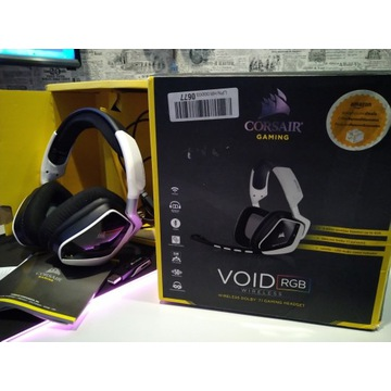 CORSAIR VOID WIRELESS RGB SLUCHAWKI 7.1