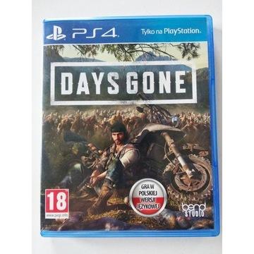 Days Gone PS4 polska wersja PL