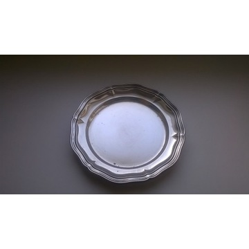 posrebrzany talerz talerzyk  sygn WMF śr. 15 cm