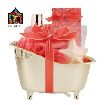Zestaw do kąpieli w małej wannie na prezent
