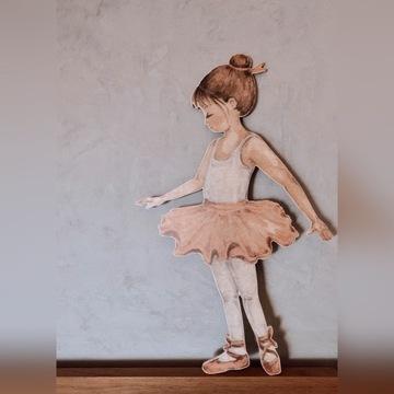 Panel ścienny - Baletnica Stella