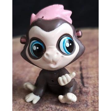 Littlest Pet Shop LPS małpka