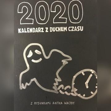 ORYGINALNY Kalendarz 2020 format B6 Antek Wajda