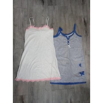 Dwie nowe damskie koszulki do spania r m