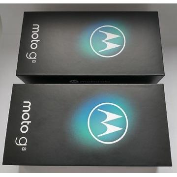 Pudełko do Motorola moto g8 nowe