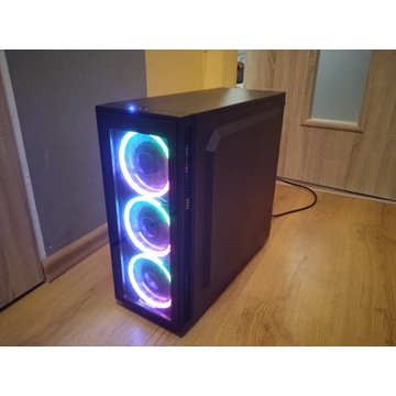 Komputer gamingowy |RGB|GTX1050|8GB|620GB|SSD|NOWY