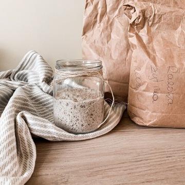 Zakwas żytni + mąka na dokarmienie (typ 2000)