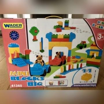 Klocki dla dzieci Wader 300 sztuk