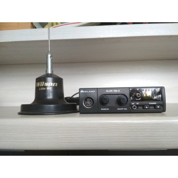 CB radio Midland Alan 199-A + antena