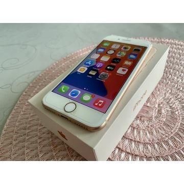 iPhone 8 64GB Gold DB Stan Krajowy Warto Komplet