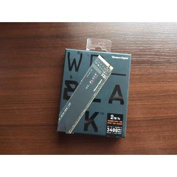 Dysk 2 TB. SSD WD_Black SN750 2 TB używany