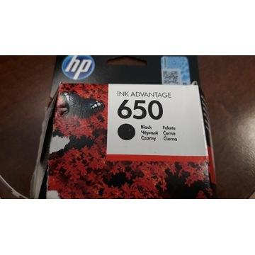 Tusz HP 650 oryginalny, czarny