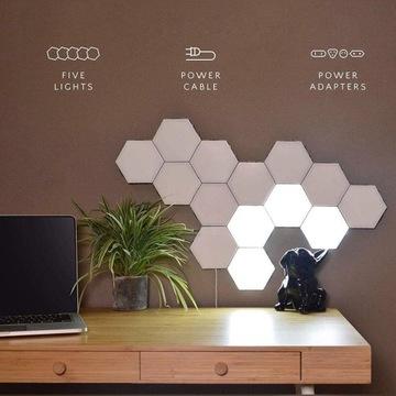 Lampka świecące hexagony Hit 2020
