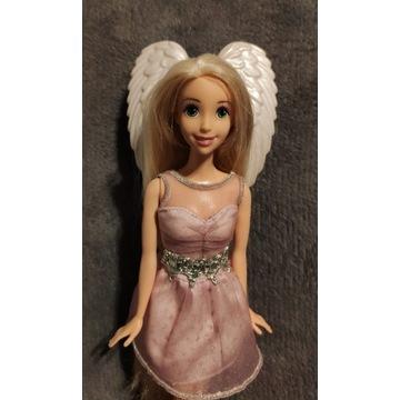 Barbie Roszpunka + Szczotka Tangle Angel