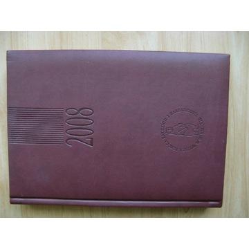 Terminarz kalendarz książkowy A5 2008