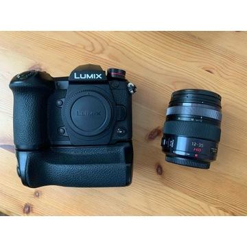 Lumix G9 + Obiektyw 12-35/2.8 + Battery Grip