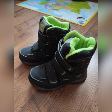 Buty 4F ciepłe, śniegowce dla chłopca r. 28