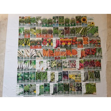 Nasiona warzyw,pomidor,salata,por,inne,kwiaty
