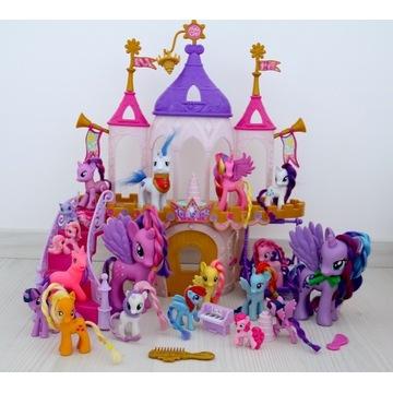 My Little Pony ZESTAW Zamek + Kucyki Polecam