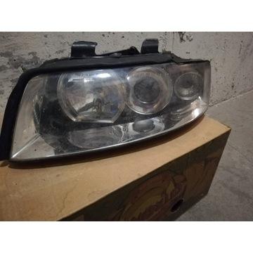 Lampy przód - Audi A4 B6 - prawa i lewa