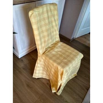 Pokrowce sukienki na krzesła 4szt