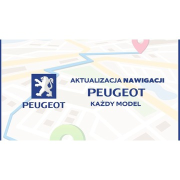 Aktualizacja Nawigacji Peugeot - Każdy model